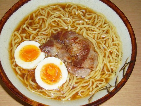 マルちゃん・正麺(せいめん)醤油味
