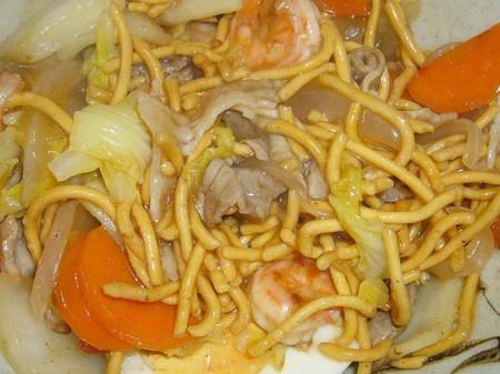 味のマルタイ・太麺皿うどん かた焼そば