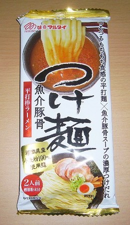 味のマルタイ・平打つけ麺 魚介豚骨 棒ラーメン