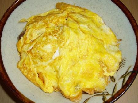 味のマルタイ・長崎皿うどんを使って天津飯を作る