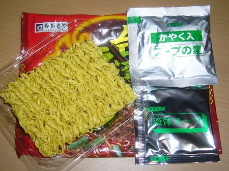 寿がきや・名古屋の味 台湾ラーメン ピリ辛醤