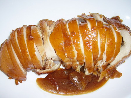 鶏モモ肉でチャーシューを作る・・・※タコ糸なしバージョン・・・
