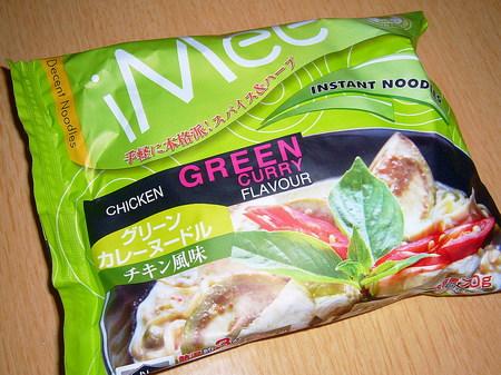 iMee・グリーンカレーヌードル チキン風味